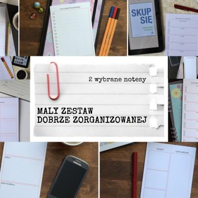 mały zestaw - 2 notesy