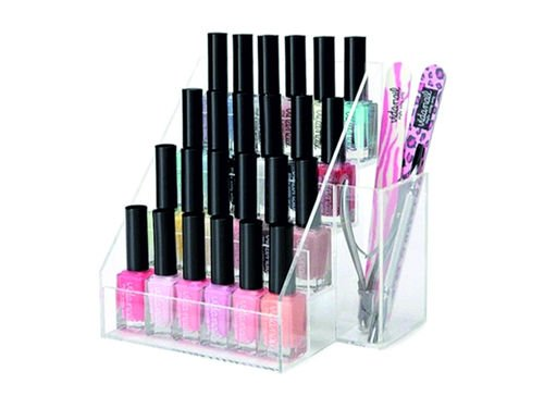 nail polish organiser display - amazon