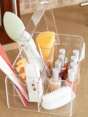 organized manicure - bhg