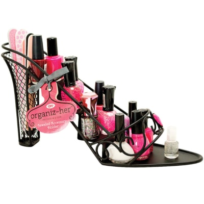 shoe shaped nail polish holder - lighterside