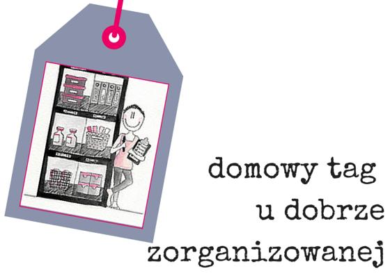 domowy tag udobrze zorganizowanej