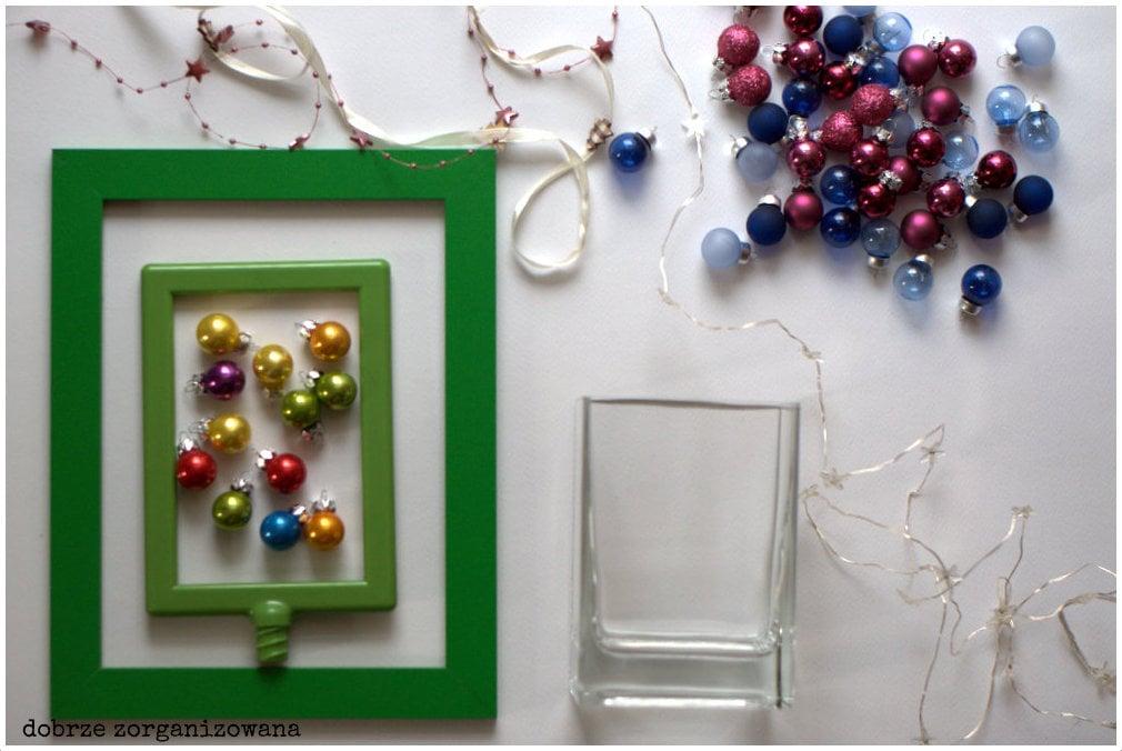 świąteczne dekoracje - przygotowania