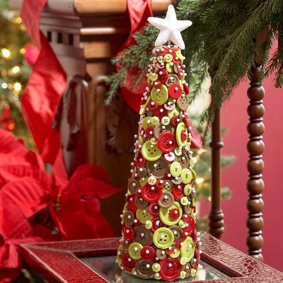 dekoracje świąteczne - choinka - bhg