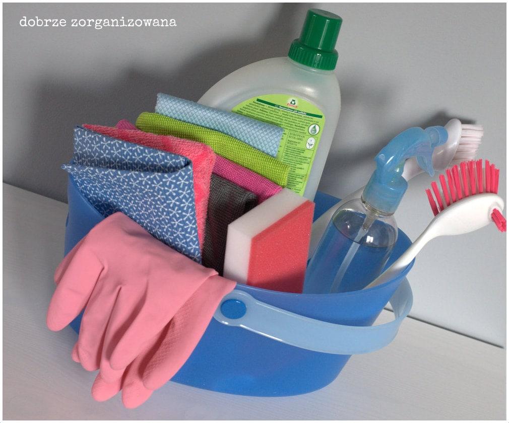 zestaw dosprzątania 7 - dobrze zorganizowana