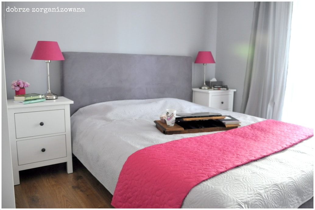 sypialnia 4 - dobrze zorganizowana