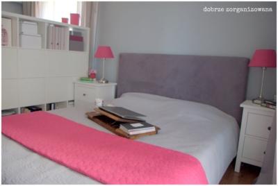 sypialnia 6 - dobrze zorganizowana