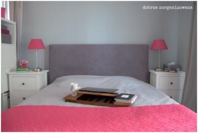 sypialnia 7 - dobrze zorganizowana