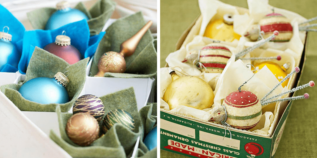 przechowywanie ozdób idekoracji świątecznych - bombki1