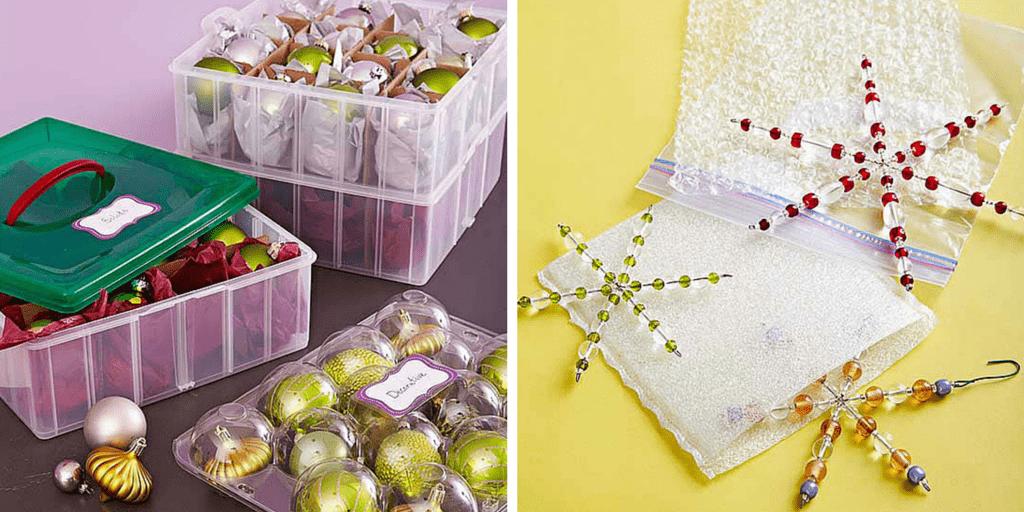 przechowywanie ozdób idekoracji świątecznych - bombki2