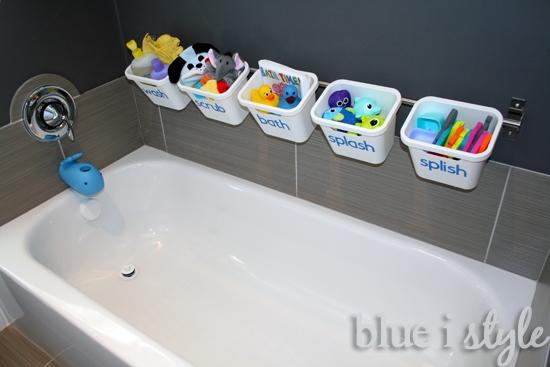 blue istyle - BathtubToyStorage2