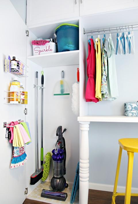 Jak Przechowywać I Zorganizować Przybory Do Sprzątania