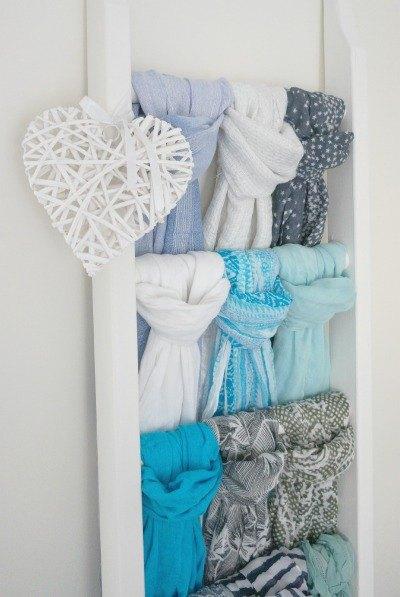 step-by-step-diy-scarf-storage-organizing-repurposing-upcycling-storage-ideas
