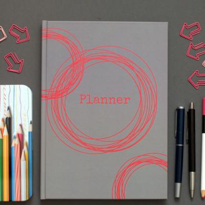 planner - dobrze zorganizowana - okładka