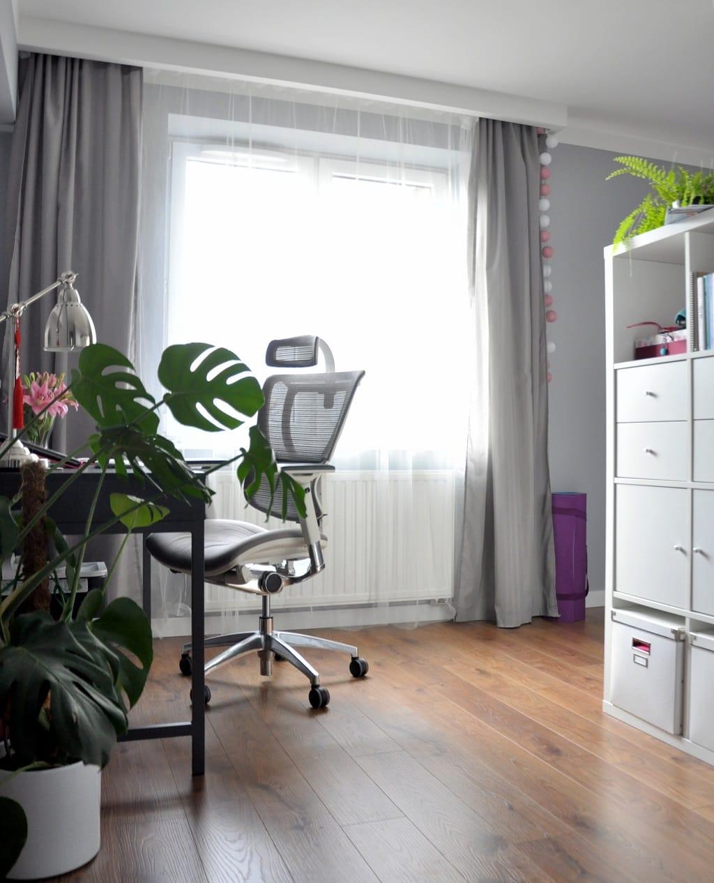 odsłona mojegodomowego biura - biuro 2 - dobrze zorganizowana