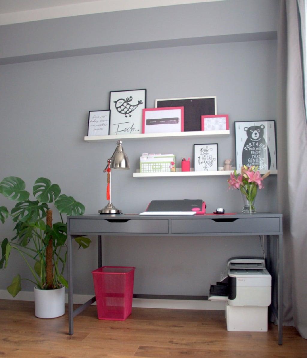 odsłona mojegodomowego biura - biuro 3 - dobrze zorganizowana