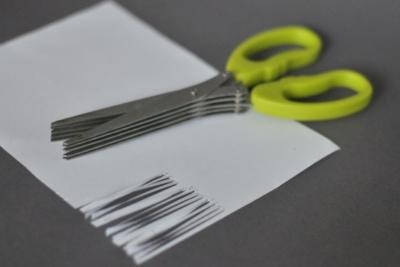 nowe zastosowania przedmiotów codziennego użytku - nożyczki doziół