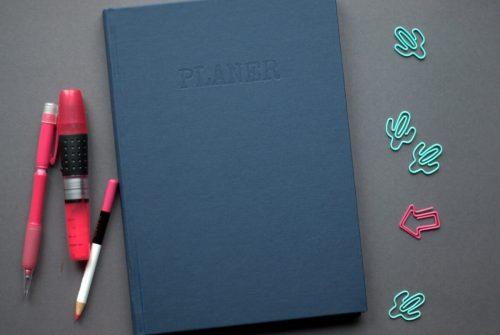 planer 2018 - okładka - dobrze zorganizowana