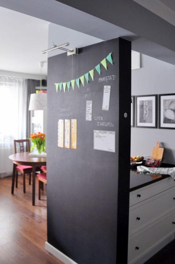 domowe centrum dowodzenia - widok zprzedpokoju