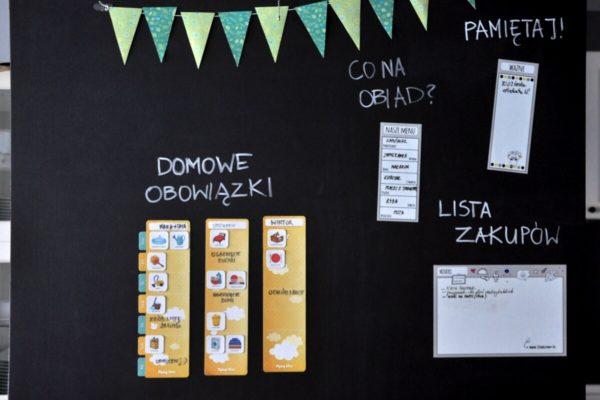 domowe centrum dowodzenia - zbliżenie