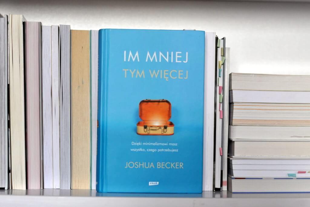 im mniej tym więcej - książka